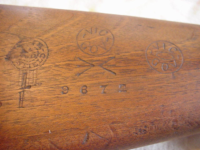 Markings on buttstock