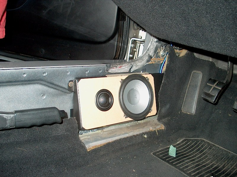 C4 Complete Audio Install Write Up Hu Amp Speakers