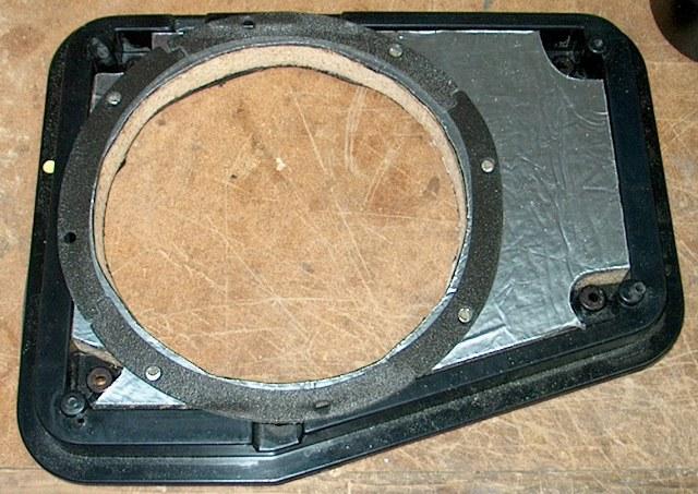 Rear Speaker Mount Mod