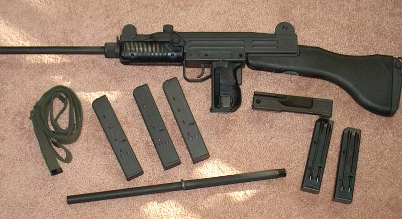 New Uzi Owner--some questions